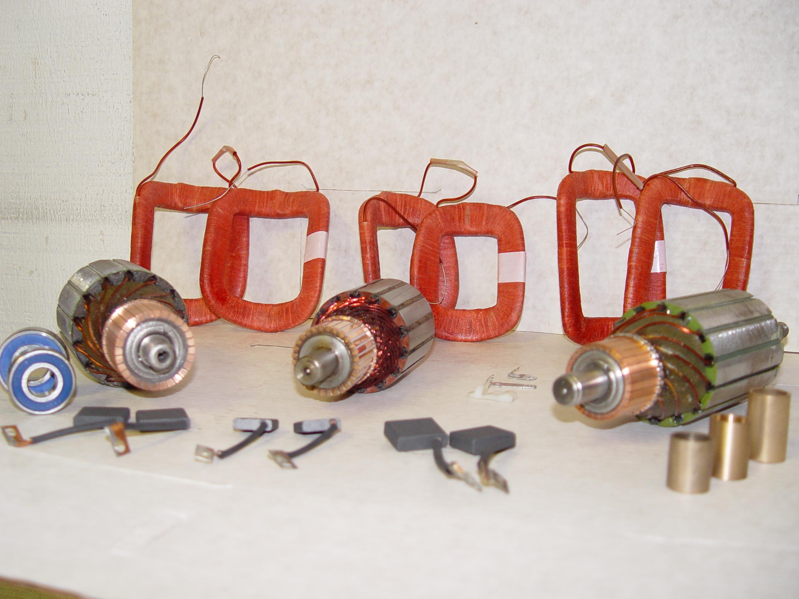 New Generator Components