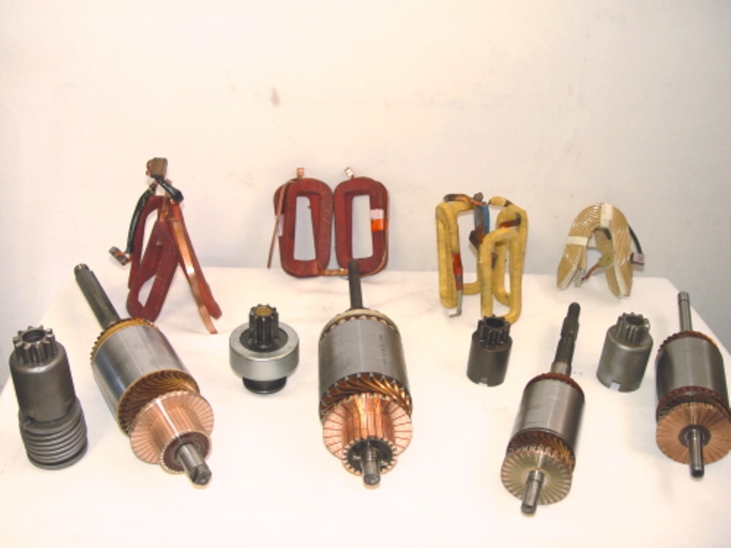 New Starter Components